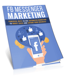 Facebook Messenger Marketing PLR Report eCover