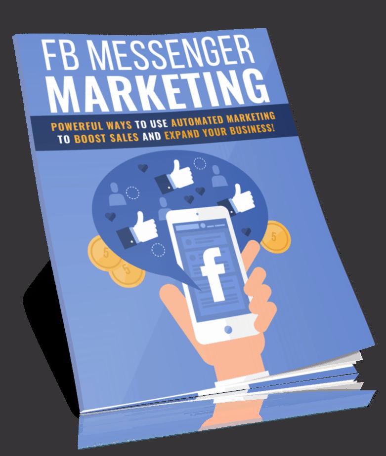 Facebook Messenger Marketing PLR Report eCover