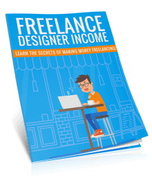 Freelance Designer Income PLR Report eCover