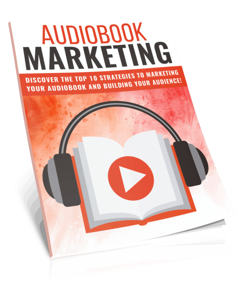 Audiobook Marketing PLR Lead Magnet Kit eCover