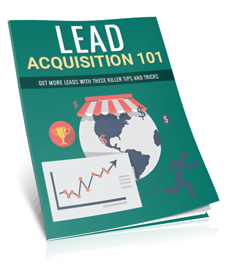 Lead Acquisition 101 PLR Report eCover