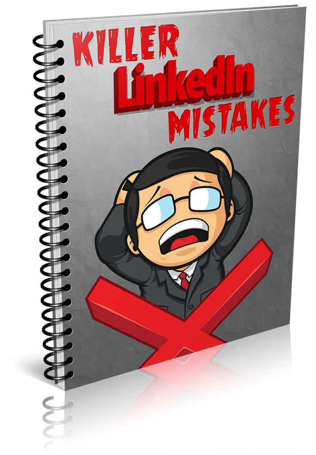 LinkedIn Mistakes PLR Report eCover