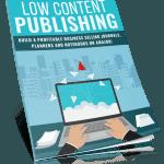 Low Content Publishing PLR Report eCover
