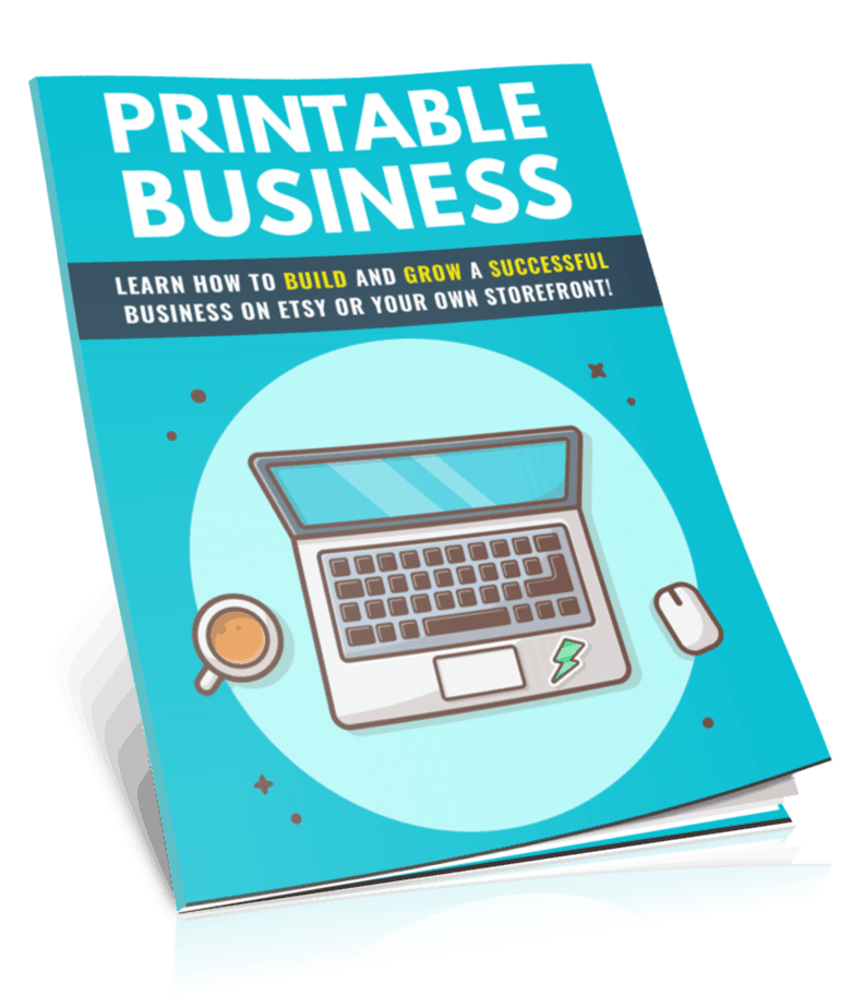 Printable Business PLR Report eCover