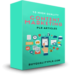 10 High Quality Content Marketing PLR Articles