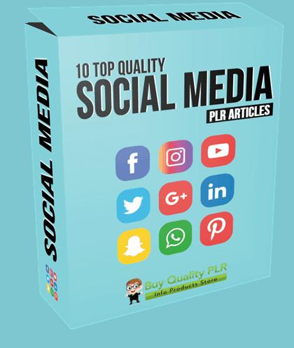 10 High Quality Social Media PLR Articles