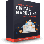 5 High Quality Digital Marketing PLR Articles