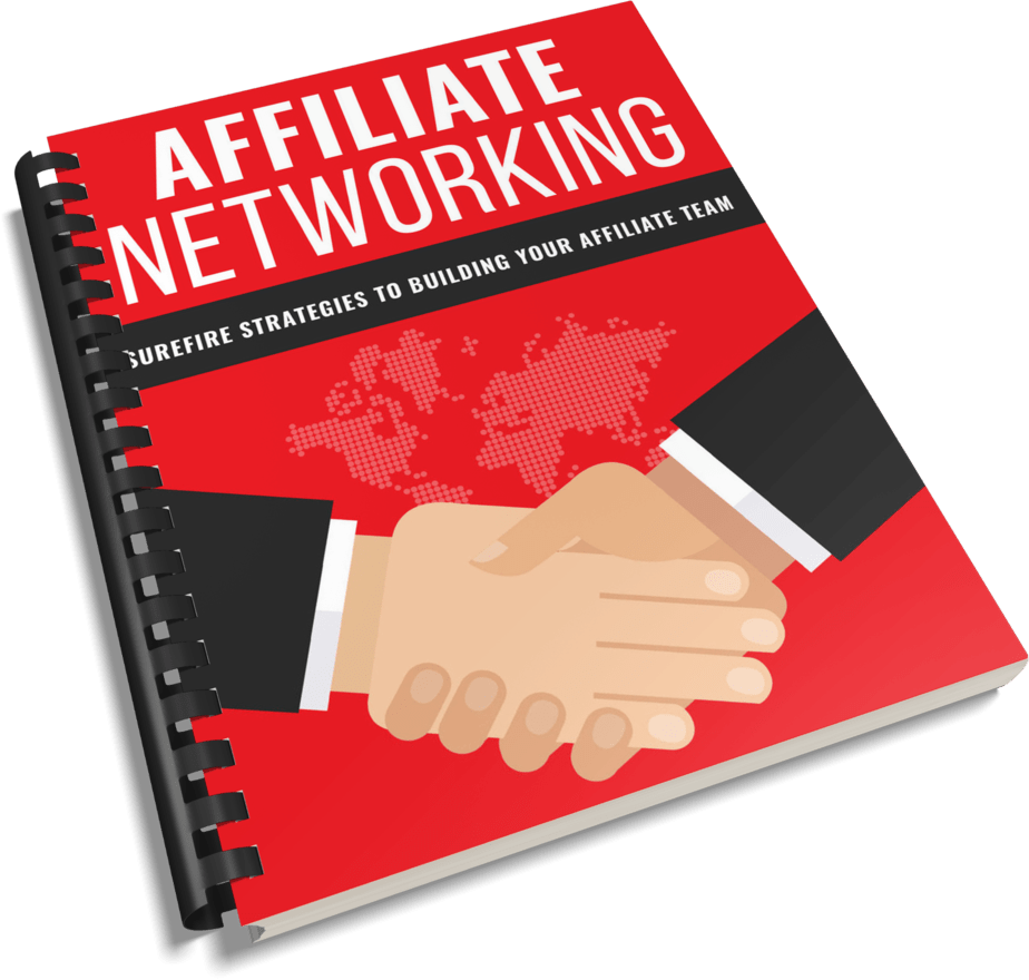 Affiliate Networking PLR Report eCover