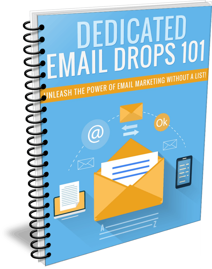 Dedicated Email Drops PLR Report ecover