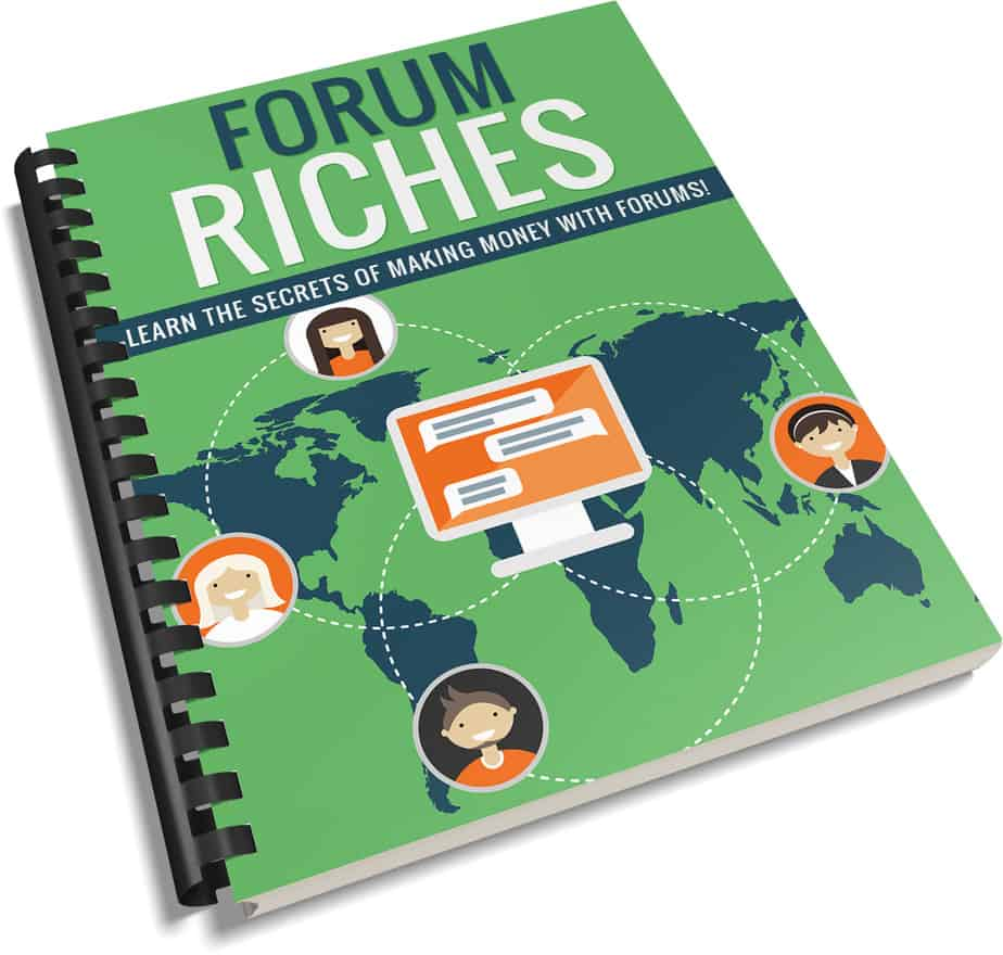 Forum Riches PLR Report eCover