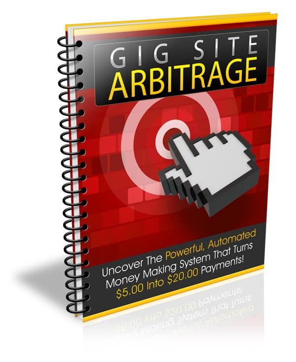 Gig Site Arbitrage PLR Report eCover