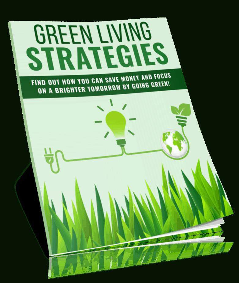 Green Living Strategies PLR Report eCover