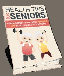 Health Tips for Seniors PLR Report eCover