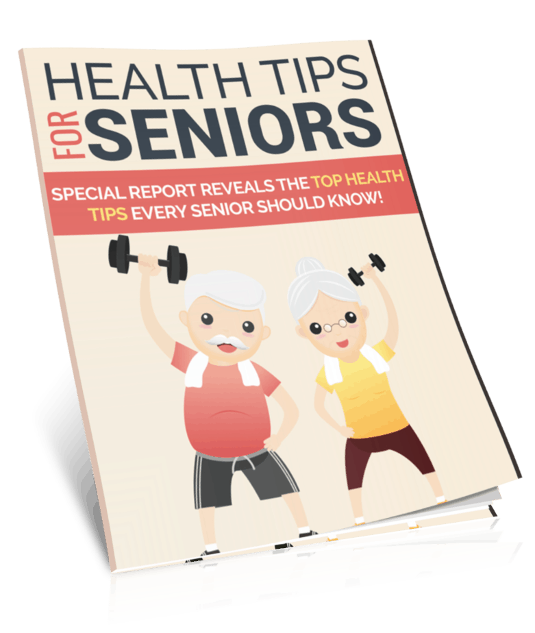 Health Tips for Seniors PLR Report eCover