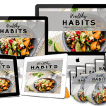 Healthy Habits Sales Funnel with Master Resell Rights