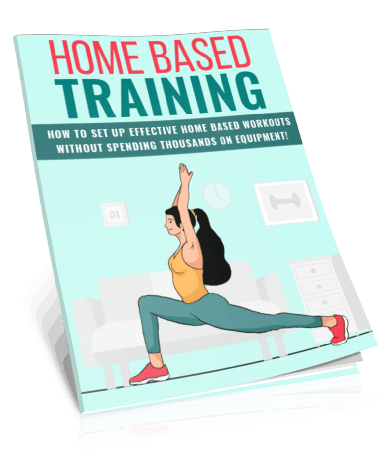 Home Based Workouts PLR Report eCover