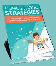 Home School Strategies PLR Report eCover