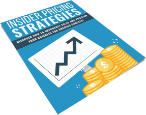 Insider Pricing Strategies PLR Report eCover