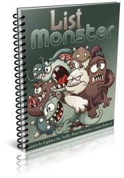 List Monster PLR Report eCover