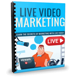 Live Video Marketing PLR Report eCover