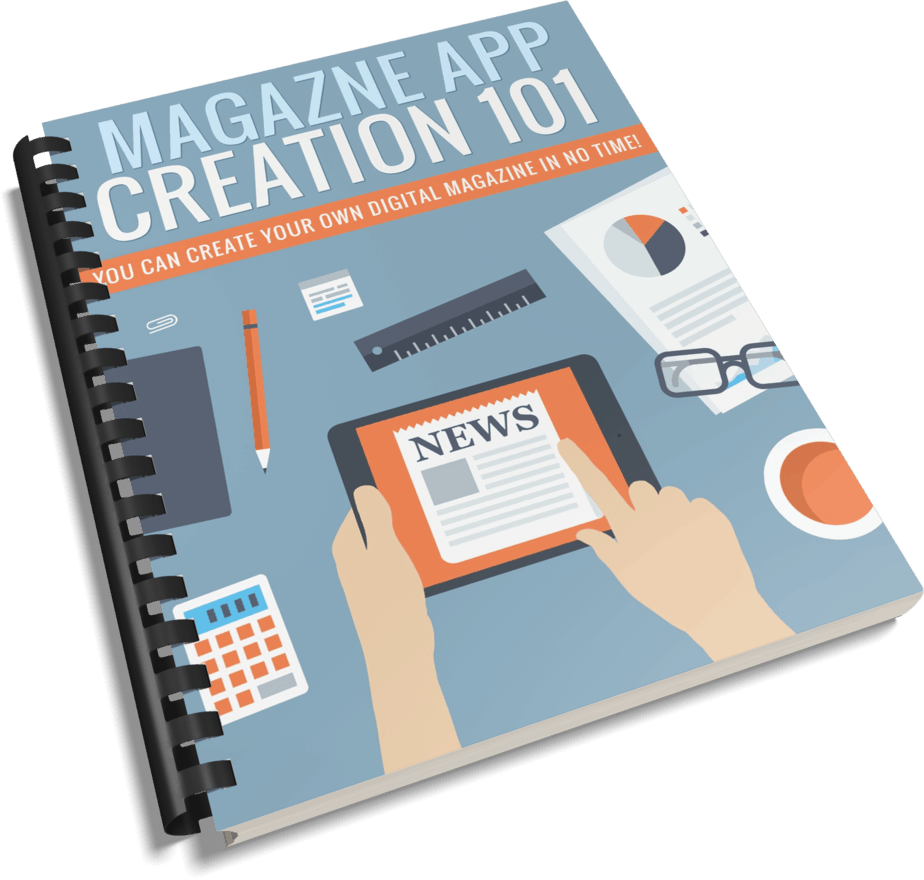 Magazine App Creation PLR Report eCover