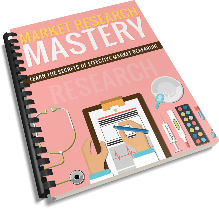 Market Research Mastery PLR Report eCover