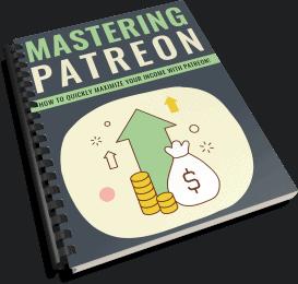 Mastering Patreon PLR Report eCover