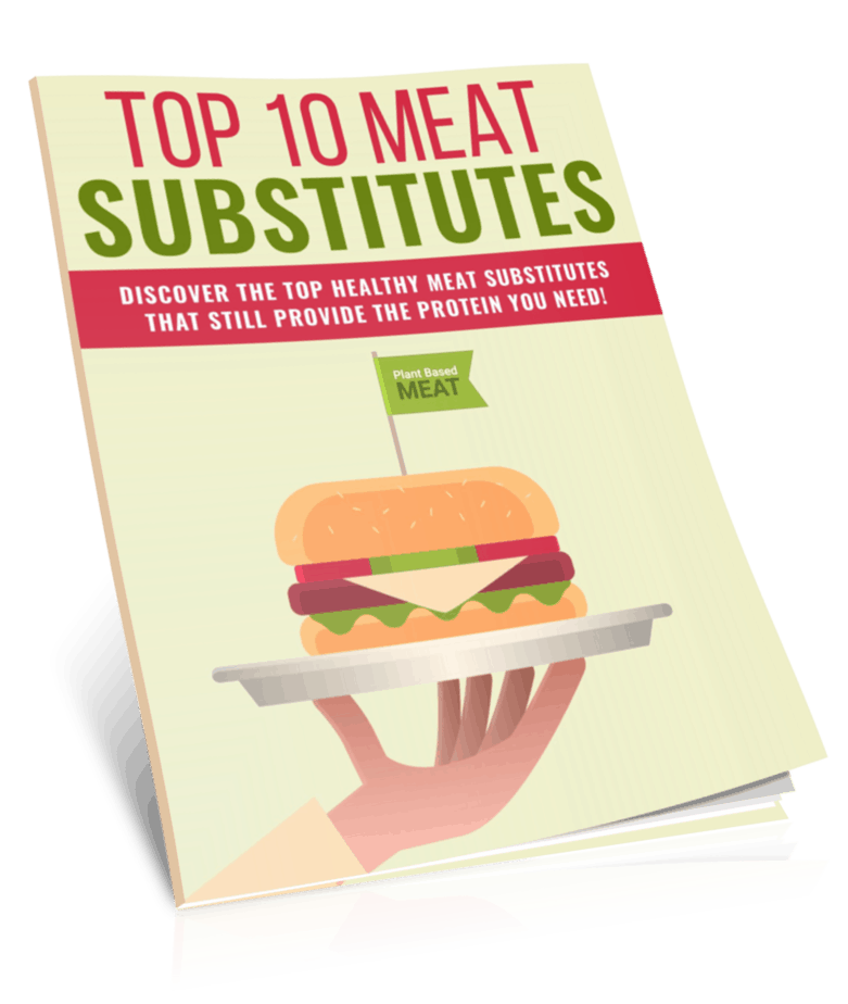 Meat Substitutes PLR Report eCover
