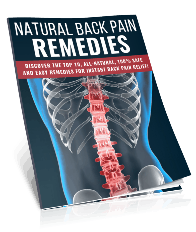 Natural Back Pain Remedies PLR Report eCover