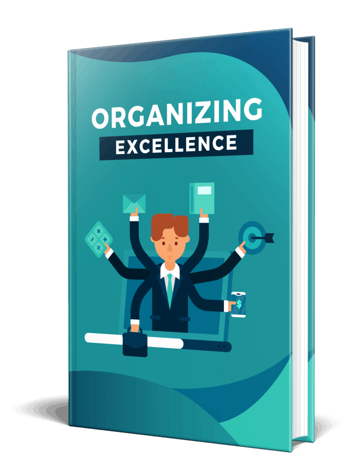 Organizing Excellence PLR eBook Resell PLR