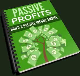 Passive Profits PLR Report eCover
