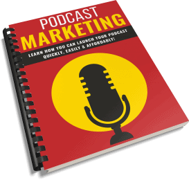 Podcast Marketing PLR Report eCover