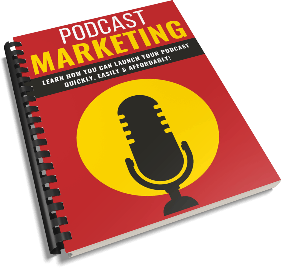 Podcast Marketing PLR Report eCover