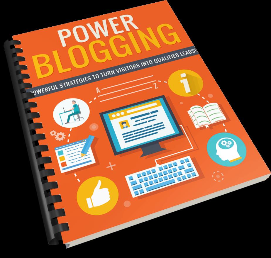 Power Blogging PLR Report eCover