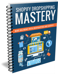 Shopify Dropshipping Mastery PLR Report eCover
