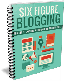 Six Figure Blogging PLR Report eCover