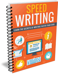 Speed Writing PLR Report eCover