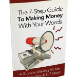 The 7 Step Guide To Making Money With Your Words PLR Report