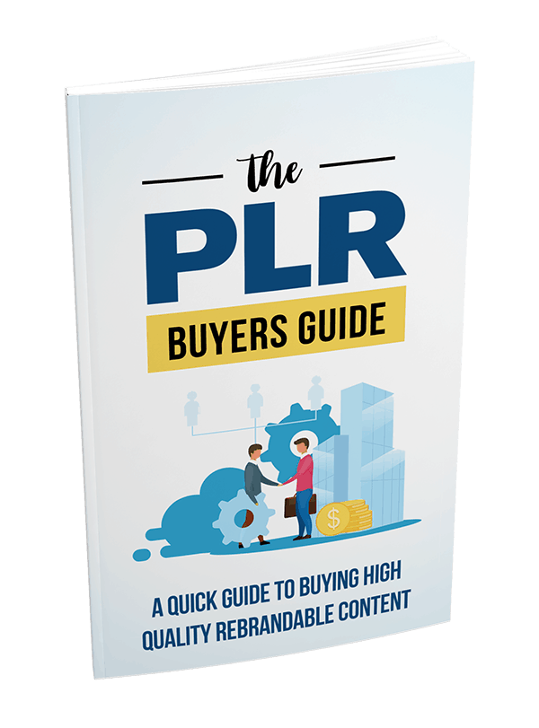 The PLR Buyers Guide PLR Report