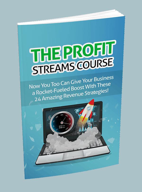 The Profit Streams Toolkit PLR Course