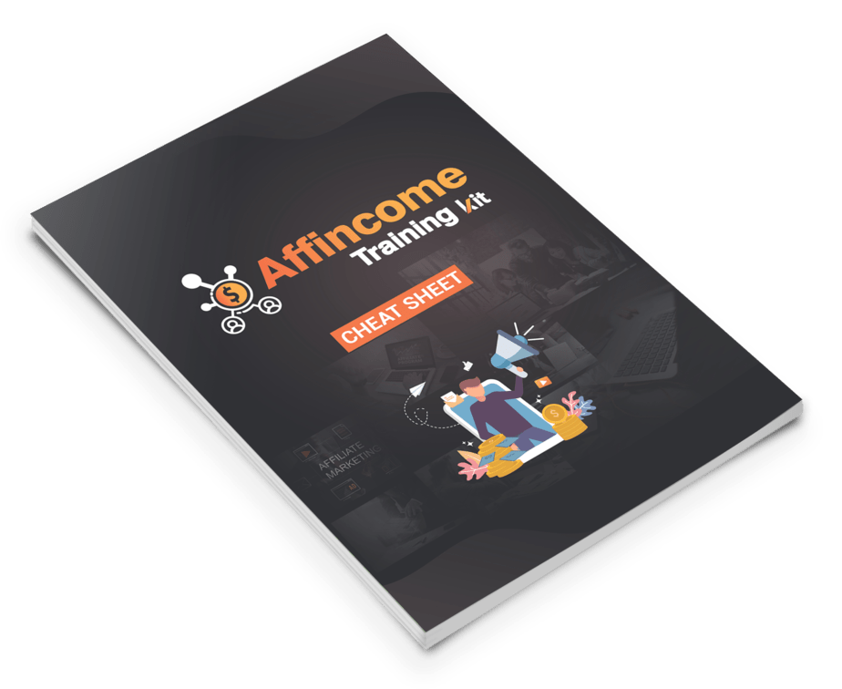 Affincome Training Kit Cheat Sheet Design