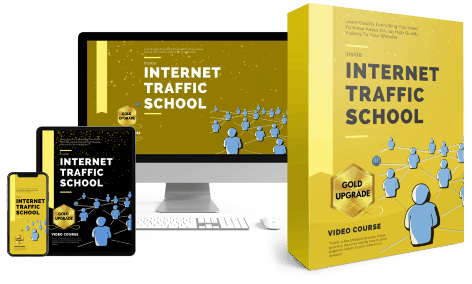 Internet Traffic School Upsell Bundle