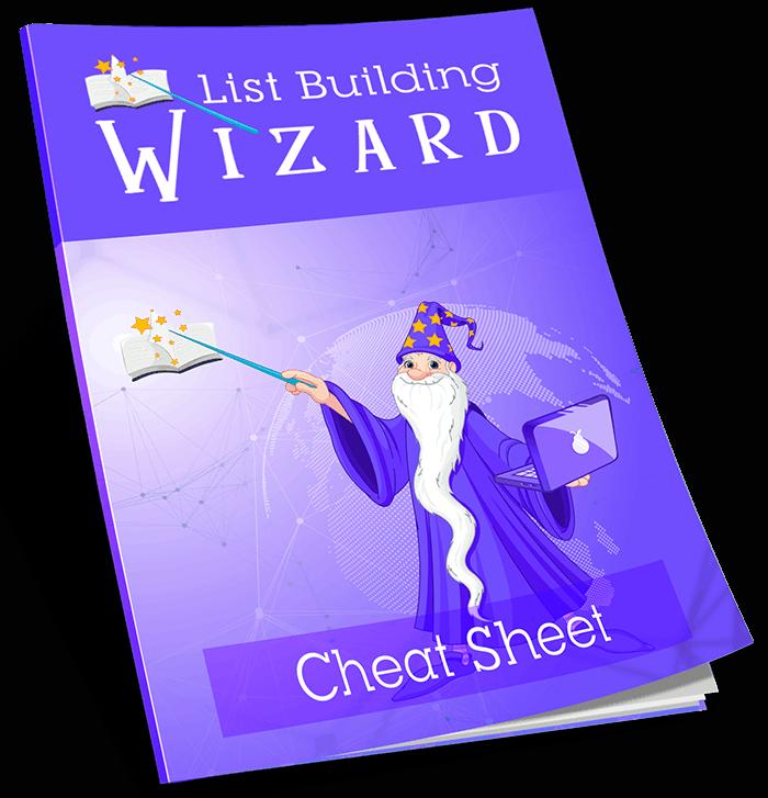 List Building Wizard Cheat Sheet