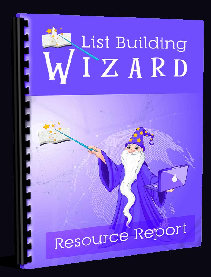 List Building Wizard Resource Report