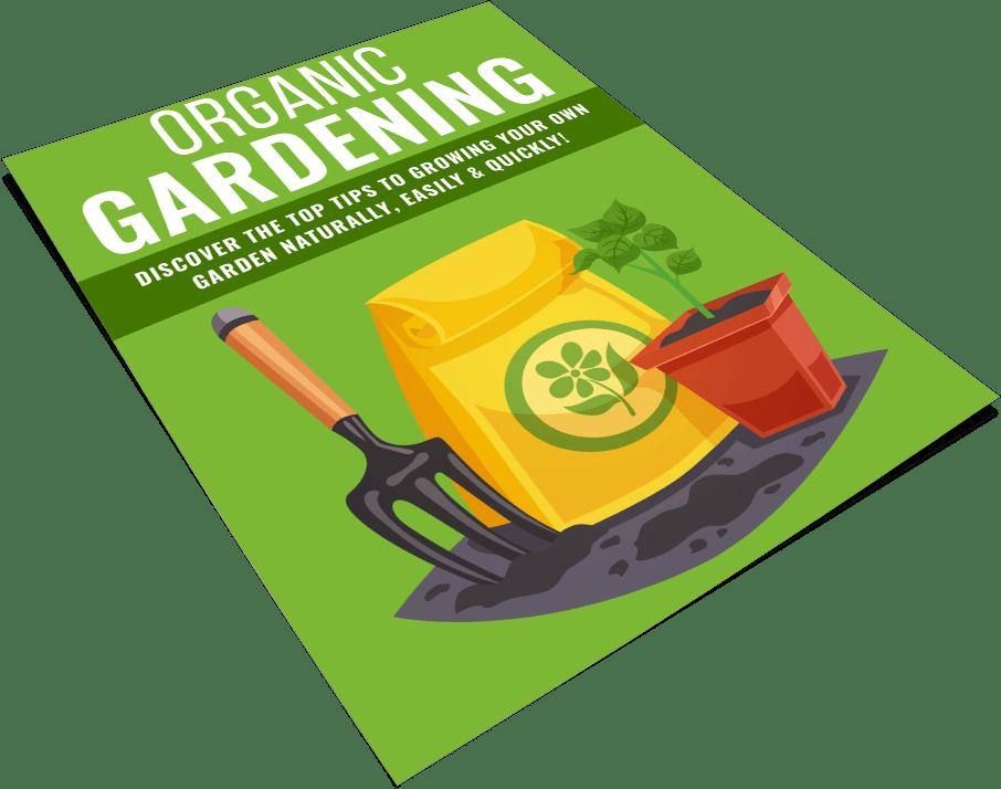 Organic Gardening 101 PLR Report eCover