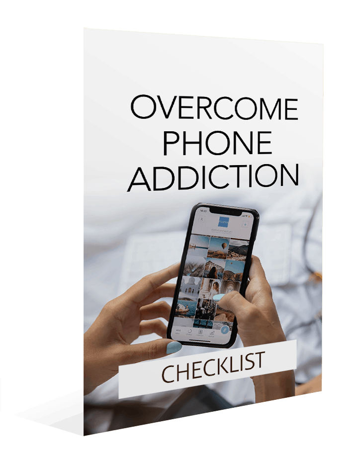 Overcome Phone Addiction Checklist