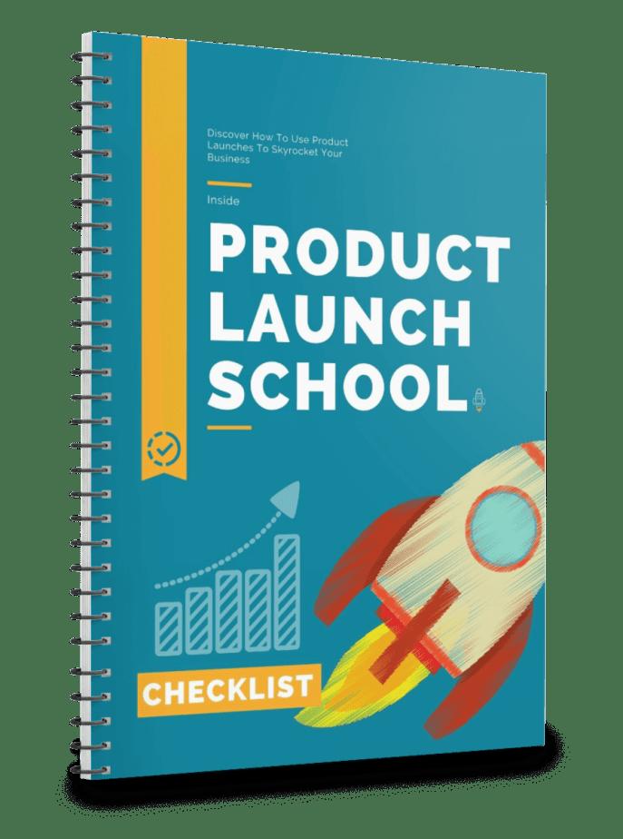 Product Launch School Checklist
