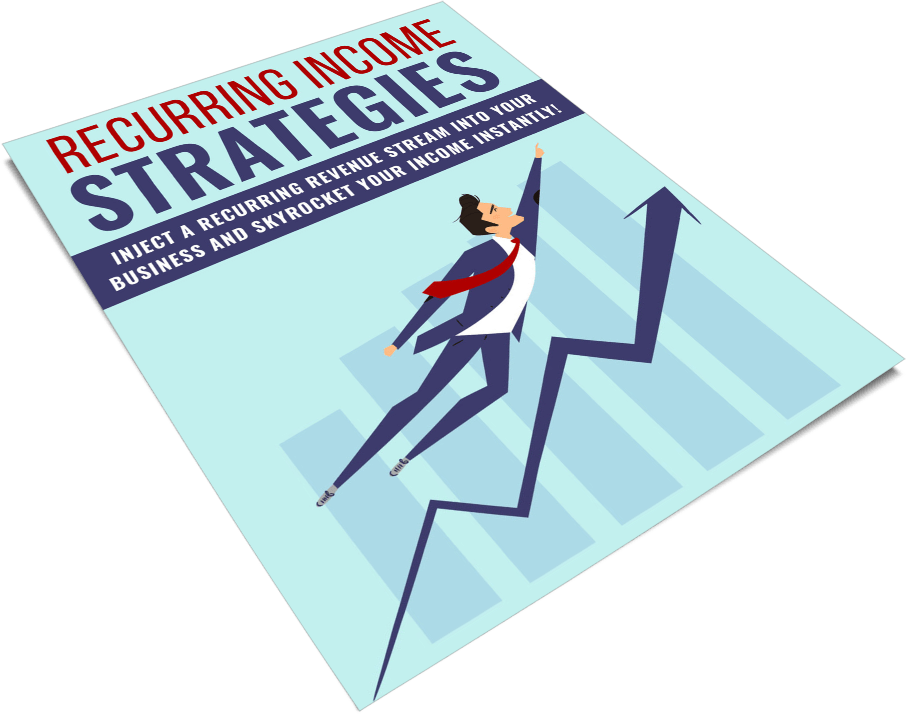 Recurring Income Strategies PLR Report eCover