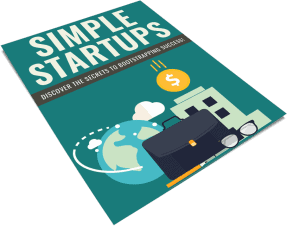 Simple Business Startups PLR Report eCover