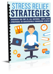 Stress Relief Strategies PLR Report eCover